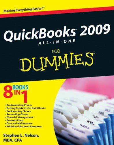 quickbooks 2018 all in one for dummies for dummies computer tech books quickbooks 2009 all in one for dummies software computer