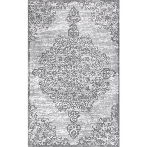 9 X 14 Area Rugs Nuloom Blythe Grey 9 Ft 10 In X 14 Ft Area Rug Rzbd16a 10014 The Home Depot