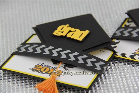 jinky s crafts designs 3d graduation cap pop up invitations