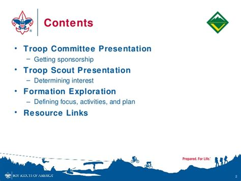 Venturing Extending The Boy Scout Troop Eagle Scout Powerpoint Template