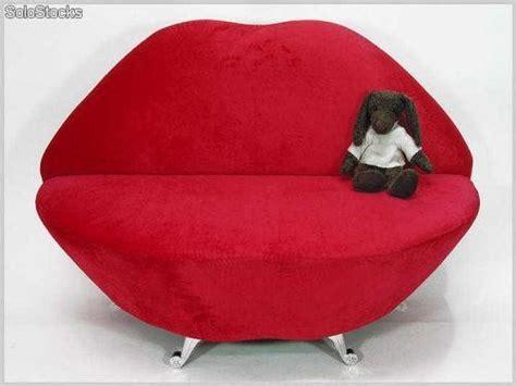 original sofa labios rojo