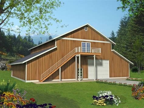 outbuilding plans outbuilding plan with tandem garage bays and loft design 012b 0008 at