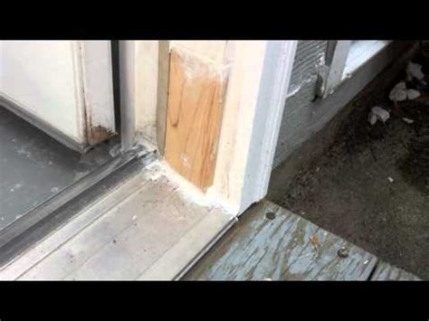 How To Replace Exterior Door Frame Solution For Rotten Exterior Door Frame