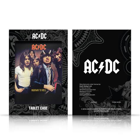 ac dc album by album books official ac dc acdc album cover leather book for