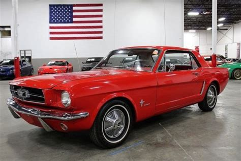6 Speed Automatic Mustang by 1965 Ford Mustang 99070 Coupe 200 Cid Inline