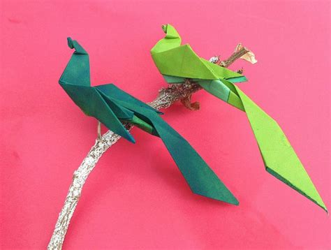Origami Bird Of Paradise Flower - origami bird of paradise 28 images how to make paper