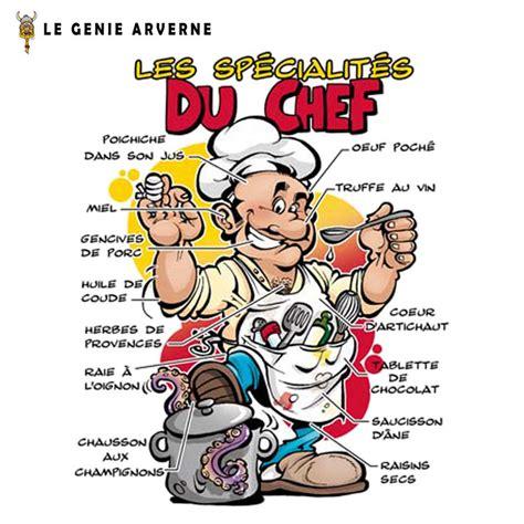 humour cuisinier