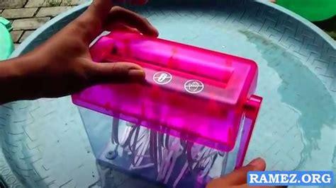 Mini Penghancur Kertas Manual mini paper shredder penghancur kertas manual