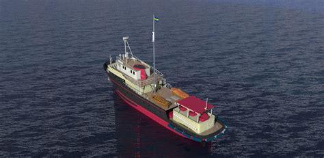 fishing boat model fishing boat free 3d model 3dm cgtrader