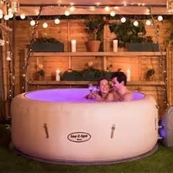 Portable Bathtub Spas Lay Z Spa Paris Tub With Led Lights Airjet