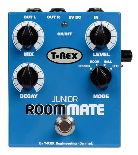 t rex room mate t rex room mate junior 4 mode reverb pedal