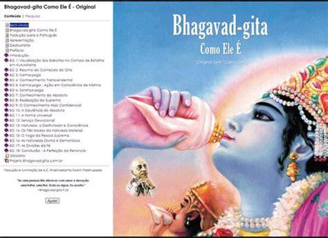 bhagavad gita as it is original in portuguese the