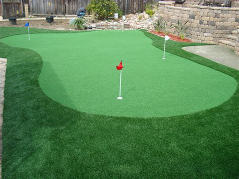 backyard artificial putting green putting greens artificial turf synthetic grass los angeles frass