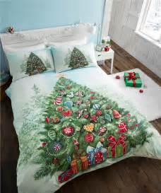 Xmas Duvet Cover Christmas Kids Quilt Duvet Cover Bedding Bed Sets 5 Sizes