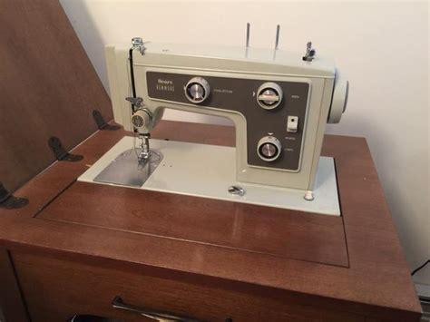 solid wood sewing machine cabinets sears kenmore sewing machine in solid wood cabinet east