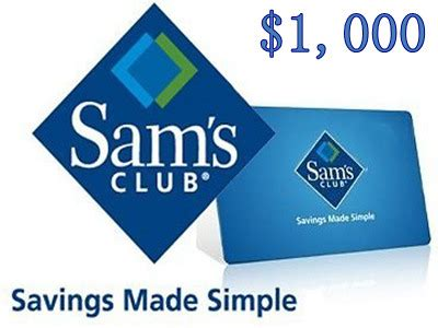 Sam S Club Gift Card Survey - www entry survey samsclub com sam s club sweepstakes sam s club 1 000 gift card