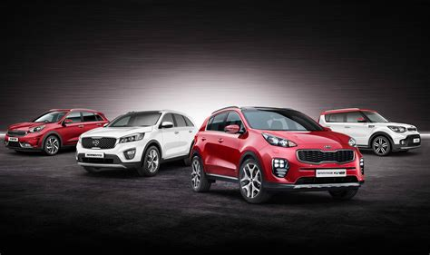 kia vehicle lineup kia kicks off 2017 with january suv event car dealer
