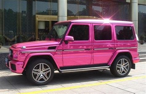 pink mercedes truck pin by iseecars on pink cars pink trucks pink suvs pink