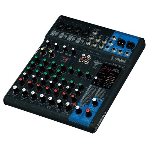 Mixer Yamaha Usb yamaha mg10xu analog usb mixer at gear4music