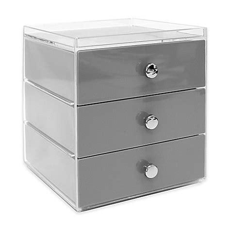 vanity drawer organizer australia interdesign 174 luci 3 drawer vanity organizer bed bath