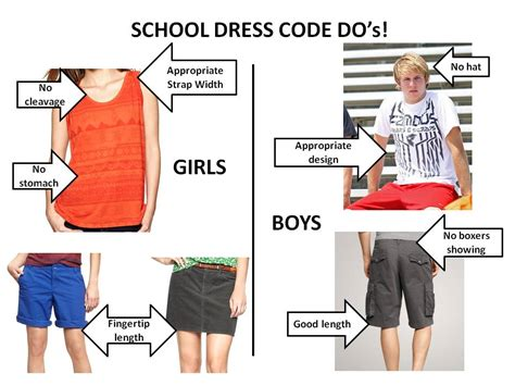 dress code for language arts