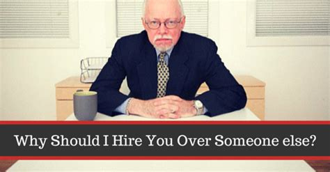 Why Should We Select You For This Mba Program by Why Should I Hire You Someone Else Answers Wisestep
