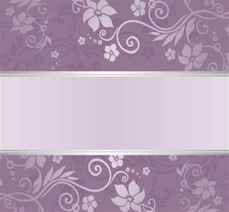 purple pattern background vector purple floral ornament pattern backgrounds vector 06