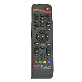 buy den set top box remote control    price