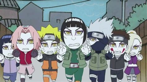 rock and his pals narutosd rock and his pals