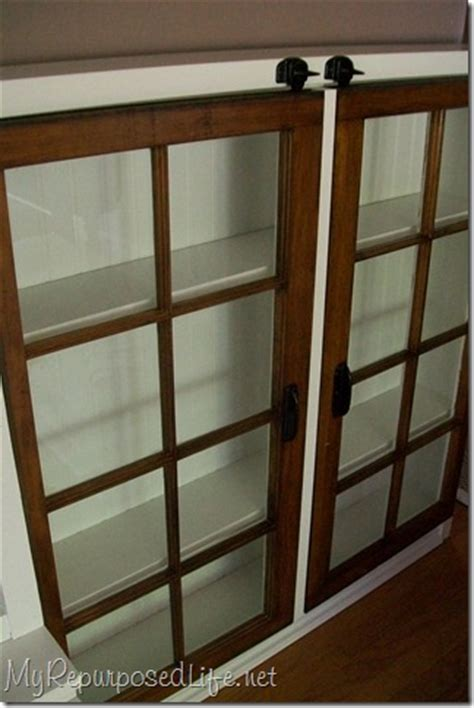 Kountry Kitchen Cabinets Remodelaholic 100 Ways To Use Old Windows