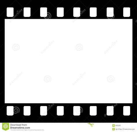 retro film strip photo frame stock vector illustration of media