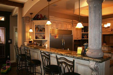 kitchen bar design ideas breakfast in the kitchen with bar design my home design