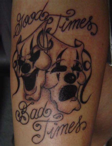 good times bad times tattoos cool tattoos designs