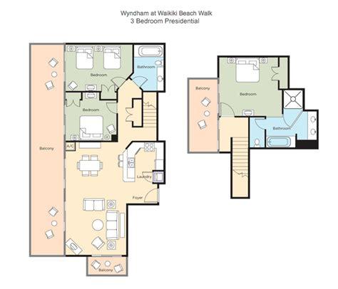 Wyndham Grand Desert Room Floor Plans by Tripbound Com Wyndham At Waikiki Beach Walk
