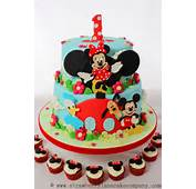 Disney Mickey Mouse Clubhouse Cake And Cupcakes  Every Day