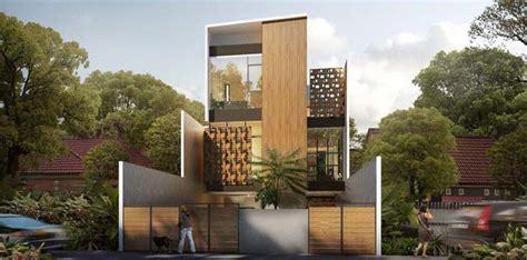 house of melati modern townhouse in indonesia