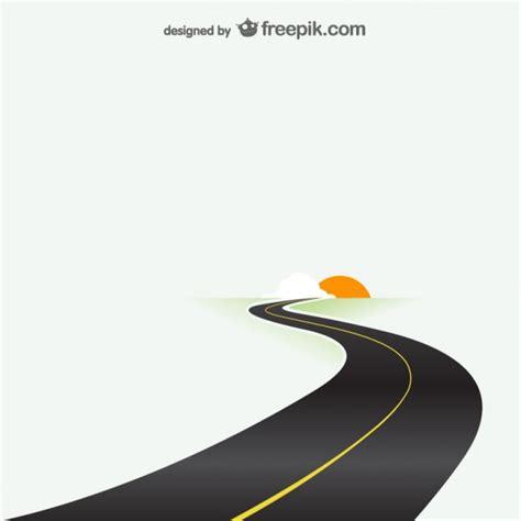 road destination template vector free download