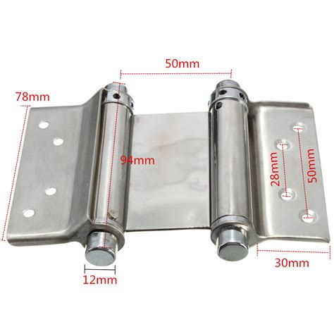 double action swing hinge 2pcs 3 inch double action spring hinge saloon cafe door