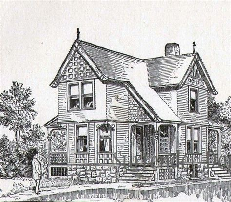 1881 print victorian cottage architecture floor plans 17 best images about victorian houses on pinterest queen