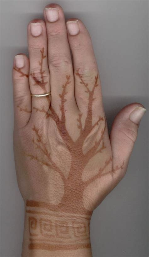 brown tattoo brown henna makedes