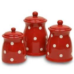 Red Canisters Kitchen Decor by Kitchen Canisters On Pinterest Canisters Canister Sets