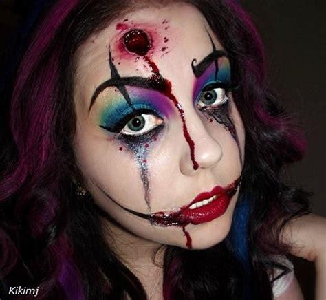 como pintar la cara para halloween maquillaje para halloween maquillarse caras de miedo