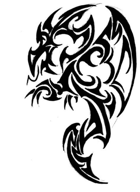 celtic tribal dragon tattoo celtic tribal tattoos