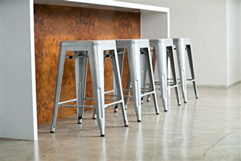 urbanmod  counter height bar stools  silver barstools