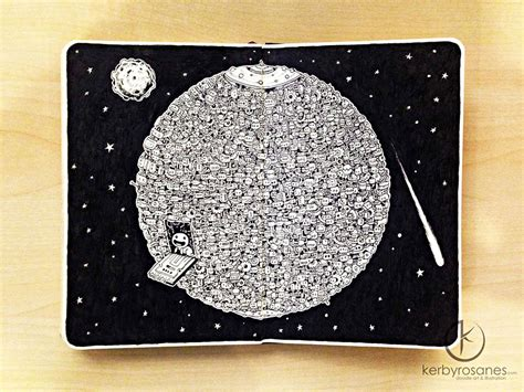 doodle bumi new incredibly detailed pen doodles by kerby rosanes