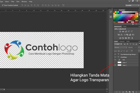 membuat logo transparan cara mudah membuat logo sendiri dengan photoshop espada blog