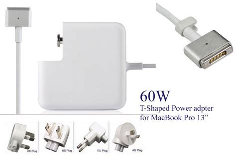 Adaptorcharger Mac Magsafe 60 Watt Original 1 original magsafe 2 60w 16 5v3 65a power adapter universal laptop charger for apple macbook pro