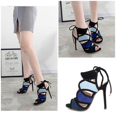 Sepatu High Heel Keren Orie jual shh7677 black sepatu boots keren 11cm grosirimpor