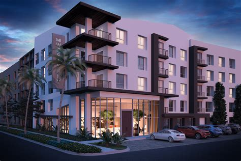 new appartments sanderson j ray development announces ground breaking on