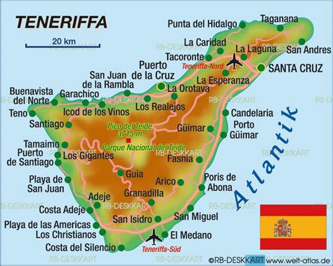 tenerife on a world map map of tenerife spain map in the atlas of the world